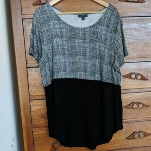 Alfani Knit Top very flattering style